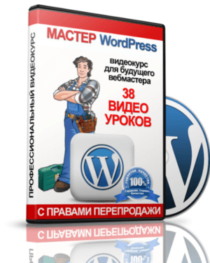 Видео курс Мастер WordPress