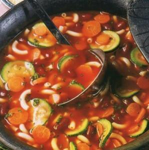 Вегетарианские рецепты. Первые блюда. Рецепт 4.