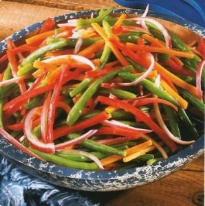 Вегетарианские рецепты. Салаты. Рецепт 4.