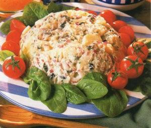 Вегетарианские рецепты. Салаты. Рецепт 7.